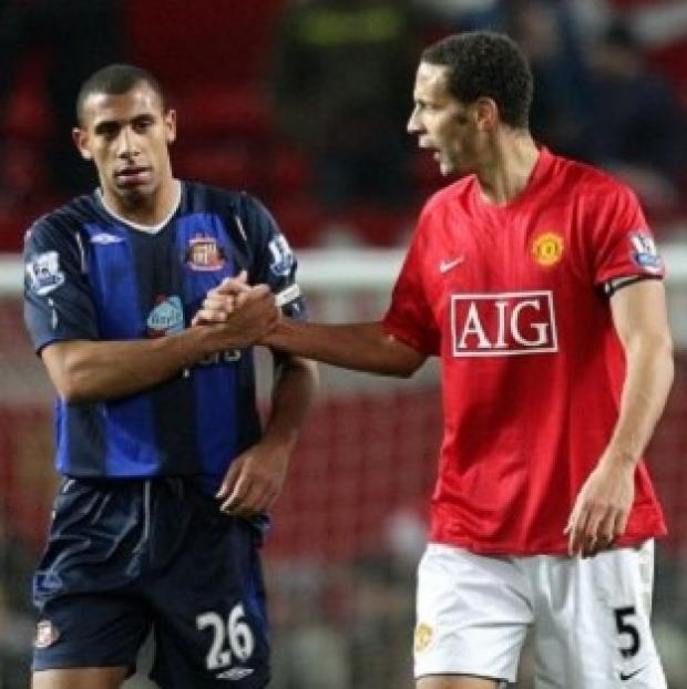 Basingstoke Gazette: Anton Ferdinand, left, and Rio Ferdinand said they want to work with the Kick it Out campaign