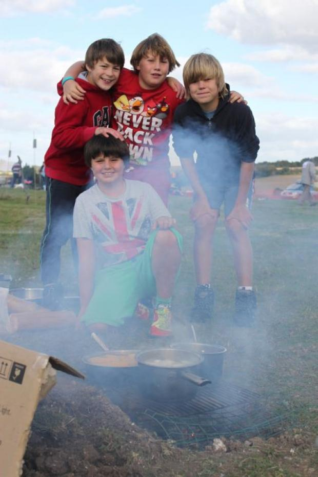 Winchester scouts get things cooking in the Backwoods Masterchef competition