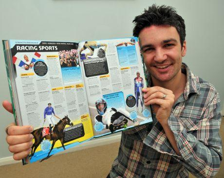 Dave Holby has made it into the Guinness World Records 2013