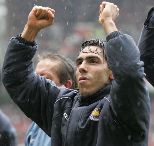Basingstoke Gazette: Carlos Tevez has been at the heart of West Ham's season on and off the pitch