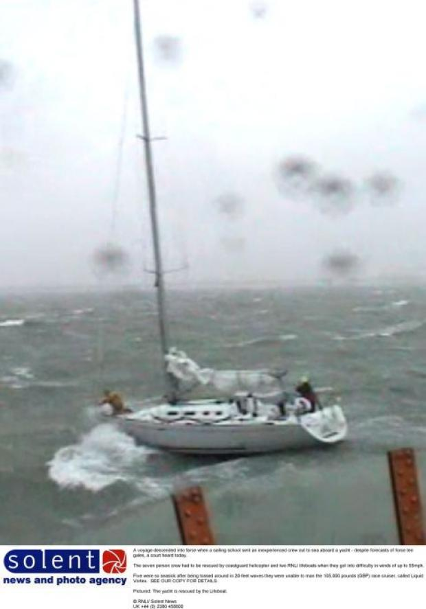 Video: dramatic rescue drama of woman on yacht