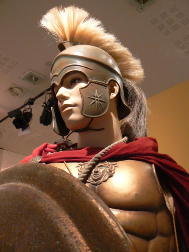 A Macedonian warrior