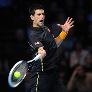 Novak Djokovic has advanced to the final of the ATP World Tour Finals