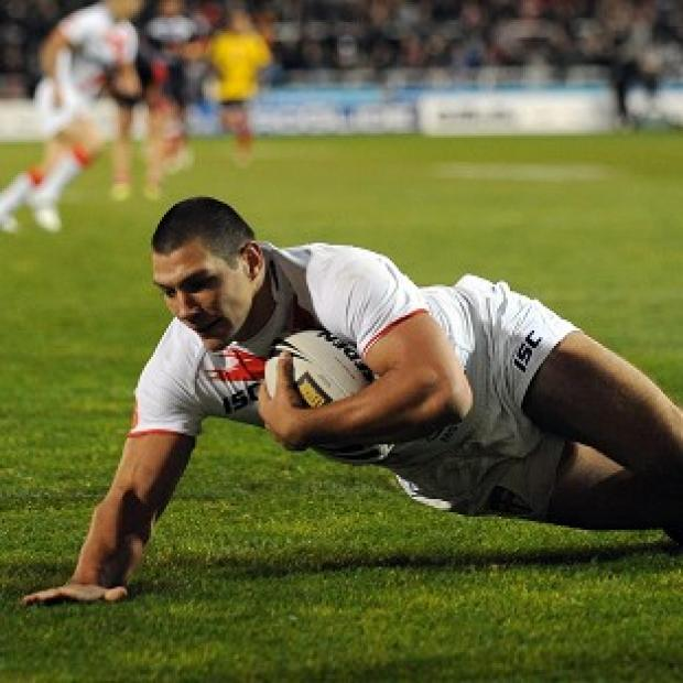 Ryan Hall scored four tries as England hammered France