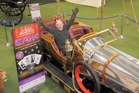 Paul Daniels at Milestones Museum