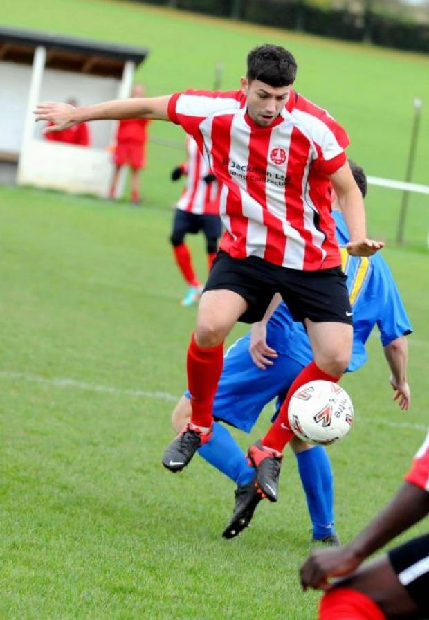 Luke Walker was among the players on target for Whitchurch.