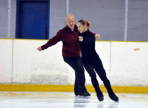 Keith Chegwin at Planet Ice, Basingstoke