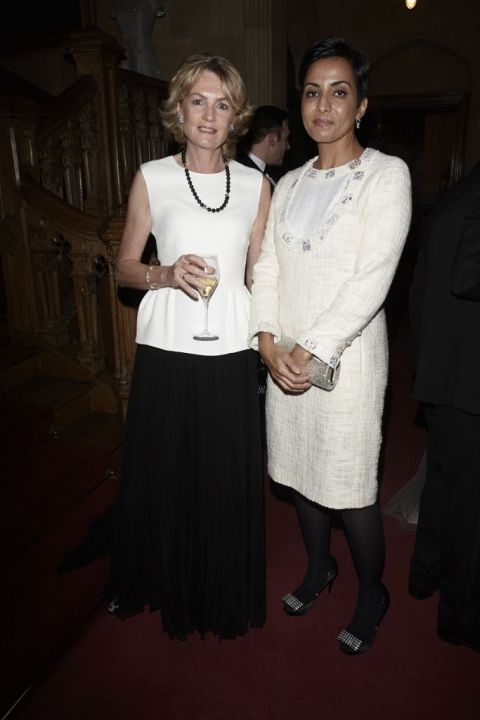 Lady Lloyd Webber and Princess Maha Mohammed