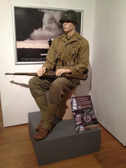 The Rangers uniform from Saving Private Ryan