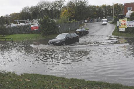 Basingstoke Gazette: Wade Road