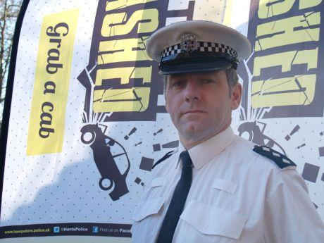 Basingstoke Gazette: Chief Inspector Andy Bottomley