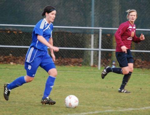 Lindsey Beverley netted twice for Basingstoke.