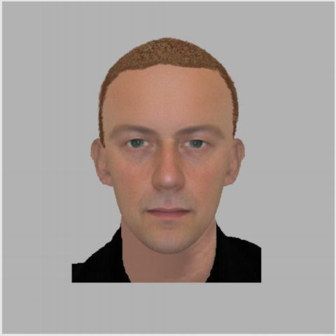e-fit image of man police want to speak to