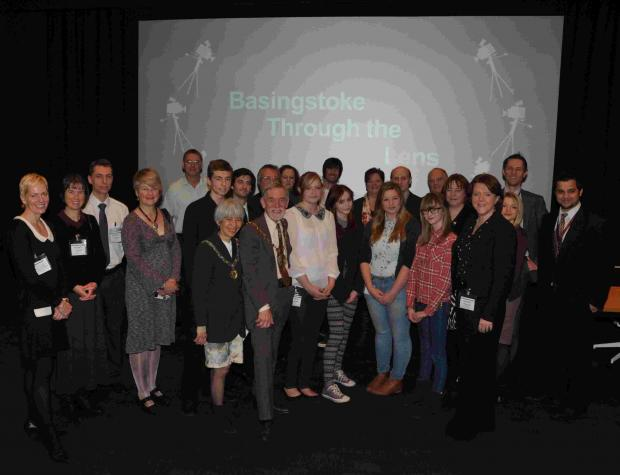 Through the Lens film award winners' screening at Sony in Basingstoke, attended by the Mayor and Mayoress and Culture Secretary Maria Miller MP
