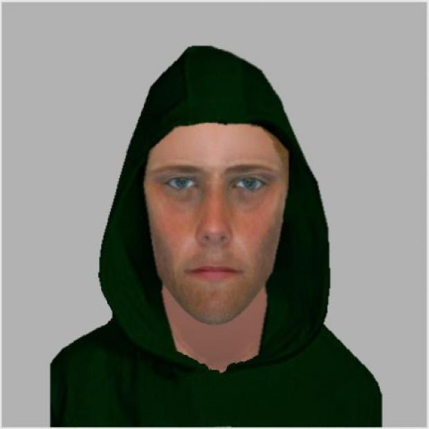 An e-fit of the man police want to speak to