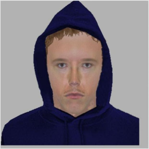 E-fit of the man police want to speak to