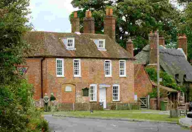 The house in Chawton pic by Terry Bond