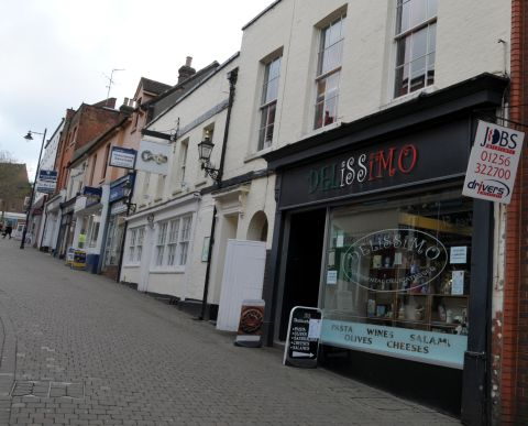 Censo and Delissimo, in Church Street