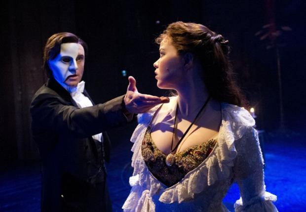 The Phantom with Christine