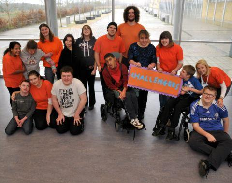 Disability Challengers at Junction 6