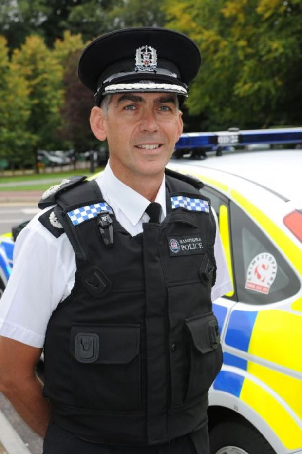 Chief Constable elect Andy Marsh