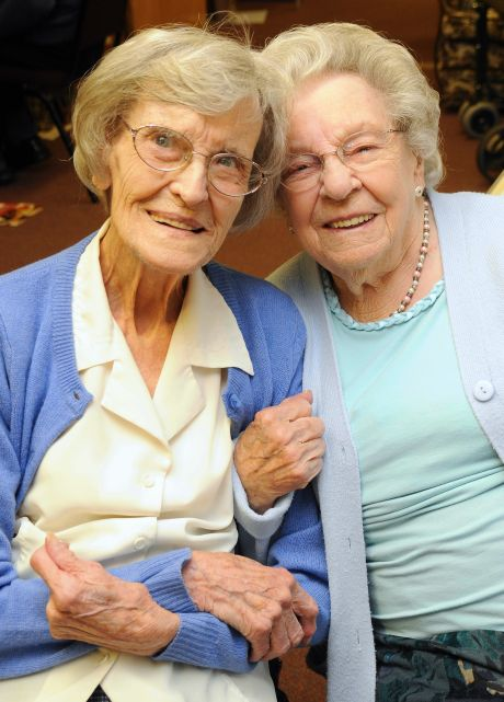 Good friends is the key to a long life says Baughurst centenarian