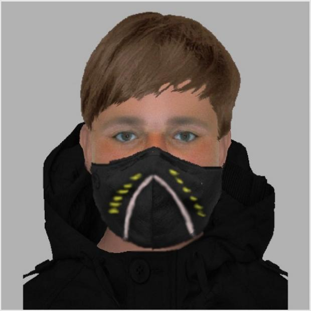 The youngster suspected of attempting to commit a robbery in Basingstoke