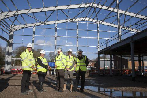Milestone for new council depot in Winchester