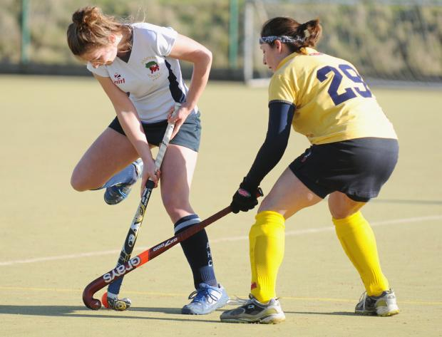 Action from Andover Ladies II v Soton Univ at John Hanson School on Saturday