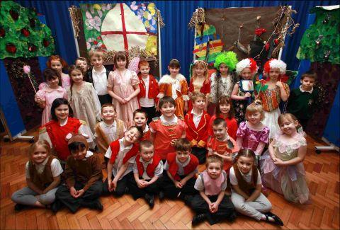 Stanmore Primary School pupils performed a Cinderella panto they scripted themselves