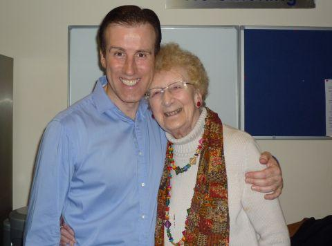 Connie Hall with Anton du Beke