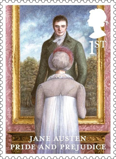 The Pride and Prejudice stamp