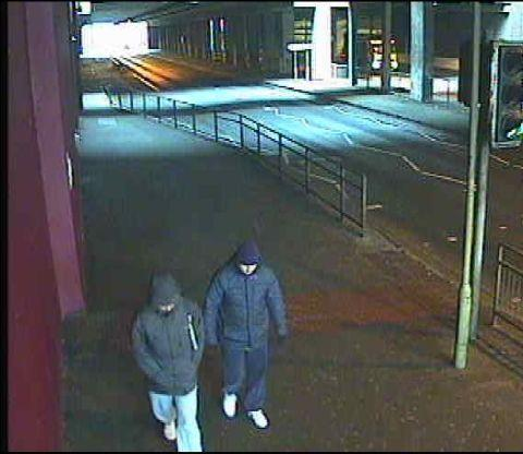 CCTV picture of the Wonderland robbery suspects