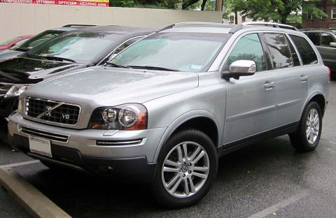 A Volvo XC90 similar to the one involved in the A31 fatal crash