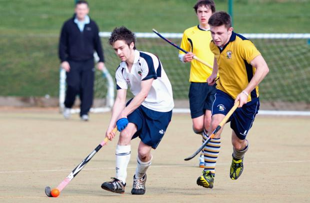 Matt  Hodgson netted twice for Andover II against Alton on Saturday