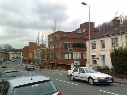 Set for redevelopment: Andover Road in Winchester