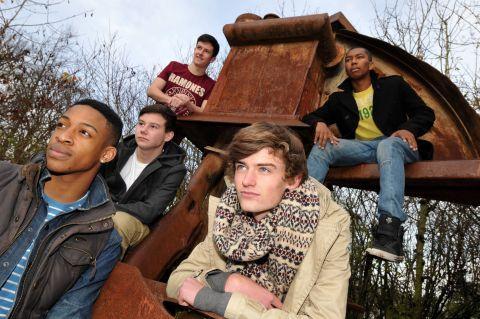 Basingstoke boy band Concept through X Factor auditions
