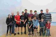 The 24-hour Squashathon was held to raise money for the Winchester Churches Nightshelter.