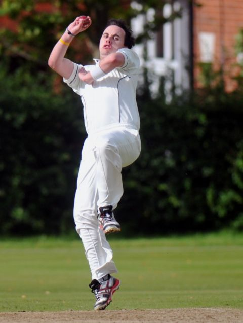 Martyn James' tight lines tied Sarisbury down early in their innings