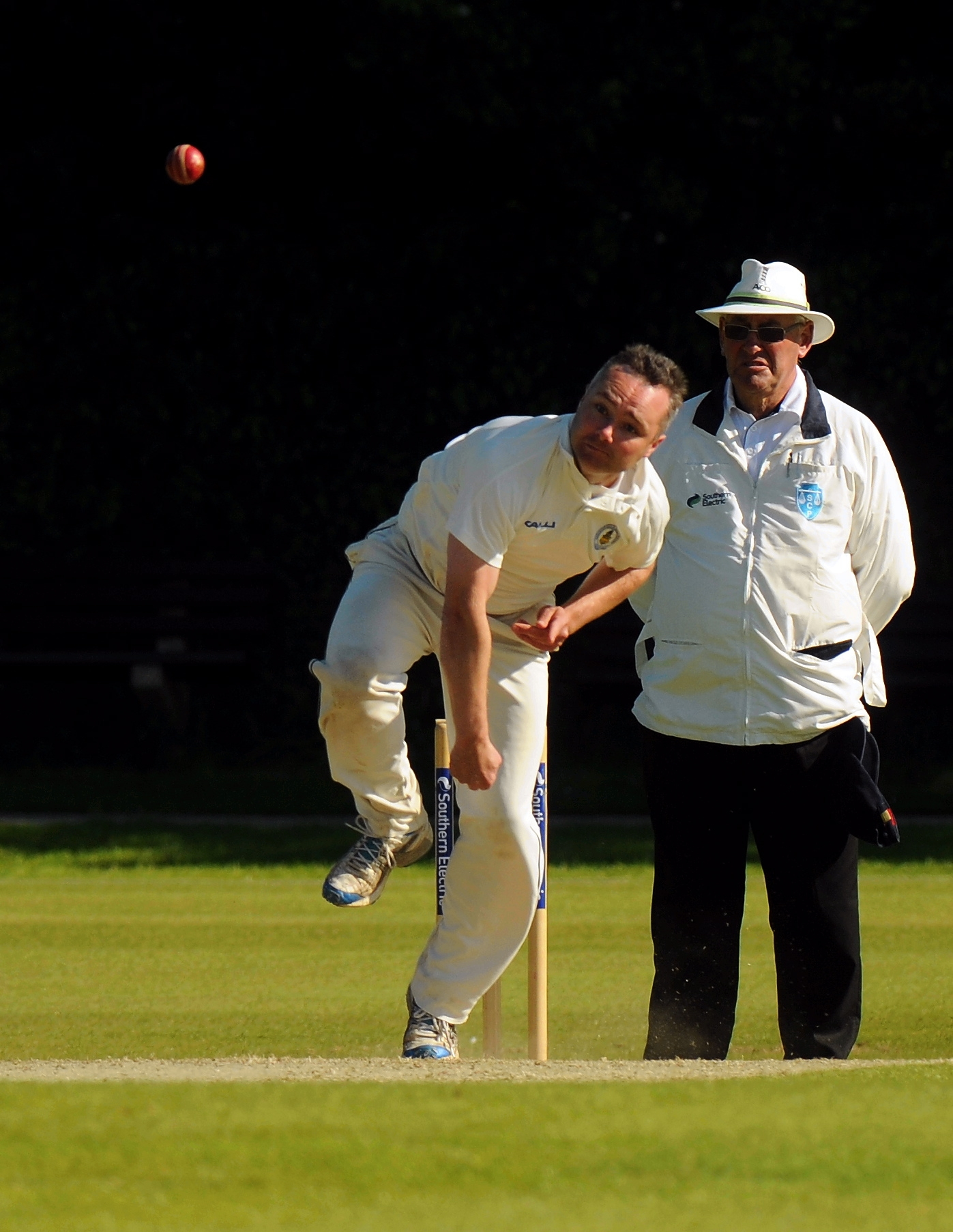 In addition to being a decent bowler, Ryan Connor is Basingstoke and North Hants' main sledging th