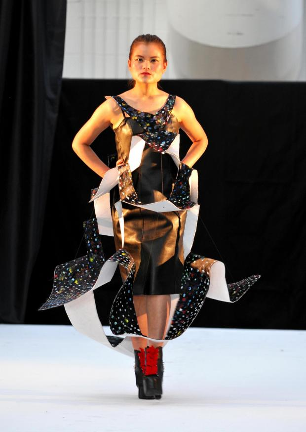 Basingstoke Gazette: BCoT students showcase work on catwalk at fashion show
