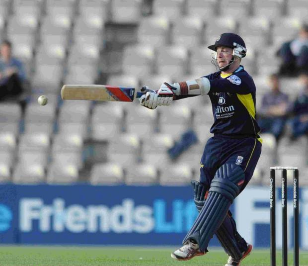 Adam Wheater is part of Hampshire's strong t20 squad