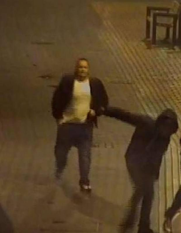 Basingstoke Gazette: A CCTV picture of the man police would like to speak to
