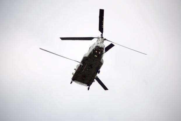 Odiham fete to get visit from RAF Chinook