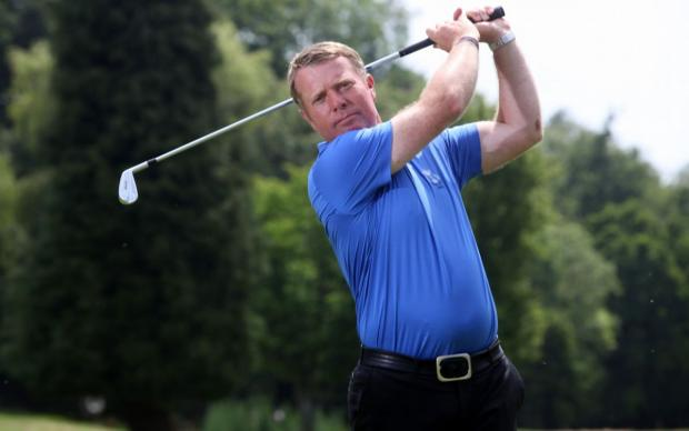Jon Barnes claimed first place at Basingstoke GC
