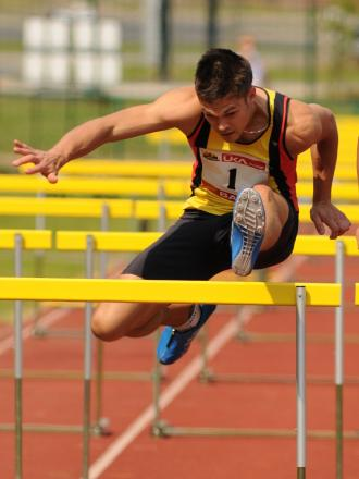 Andy Blow will compete in the 110m hurdles at Down Grange tomorrow