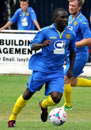 Manny Williams scored and was named Gazette Star Man, but he could not prevent Town going down to defeat at Farnborough