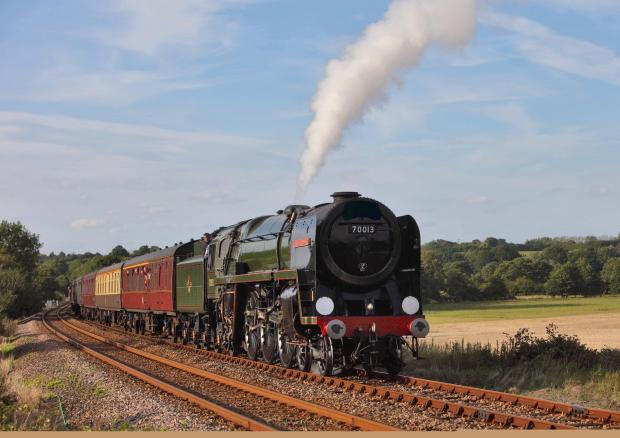 Basingstoke Gazette: Historic steam train to pass through Basingstoke