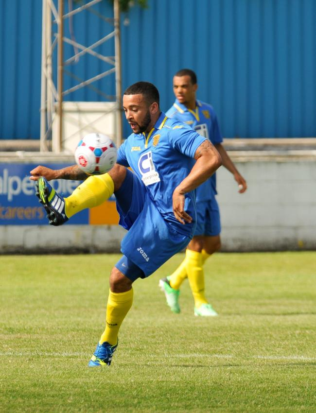 Captain Wes Daly is one of eight players who have been released by Basingstoke Town manager Jason Bristow.