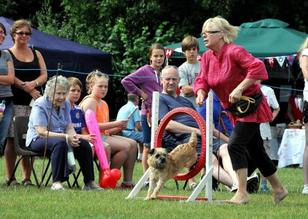 Basingstoke Gazette: Cindy Gilmore with her dog Popcorn